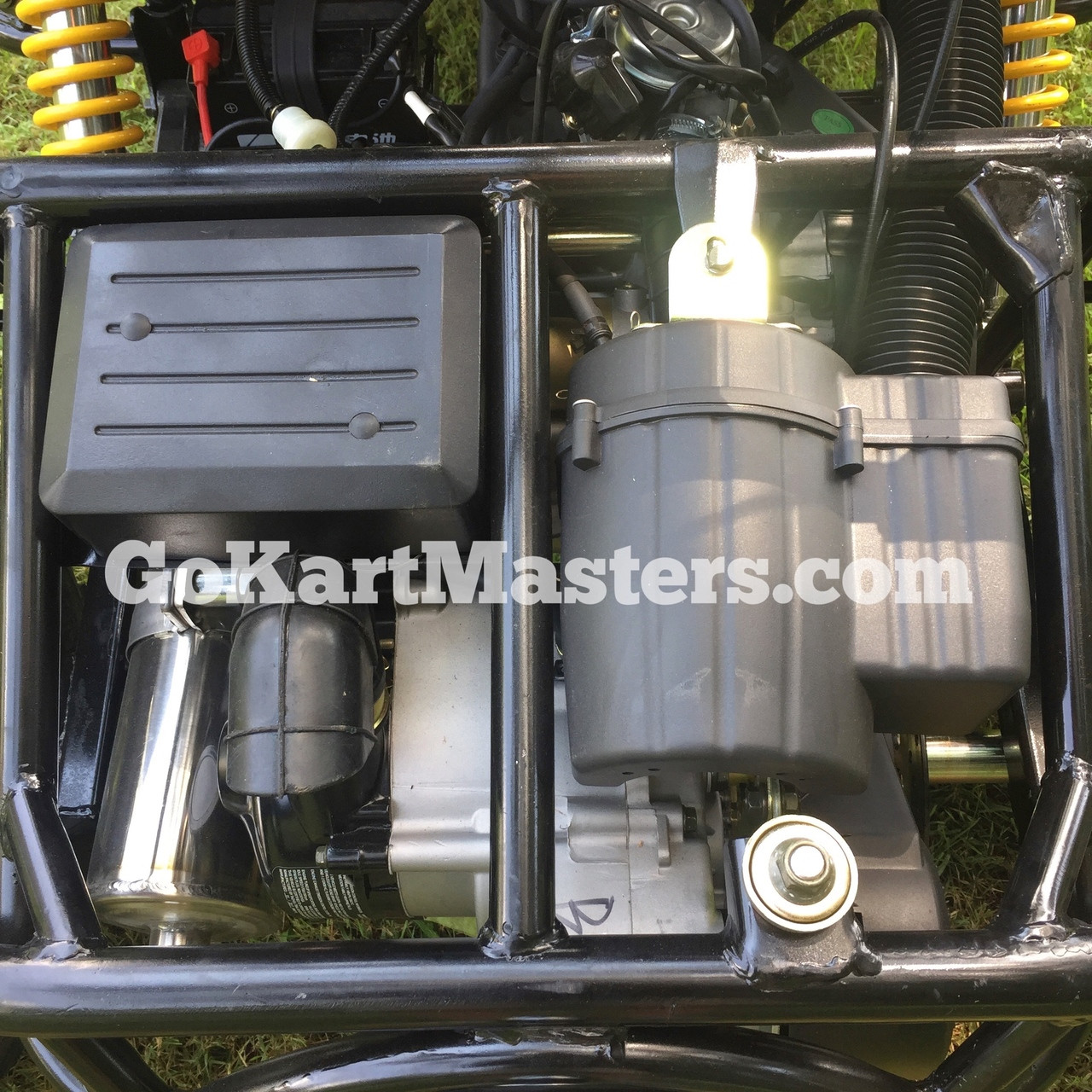 TrailMaster Blazer4 150 Go Kart - Air Cleaner & Electrical Boxes