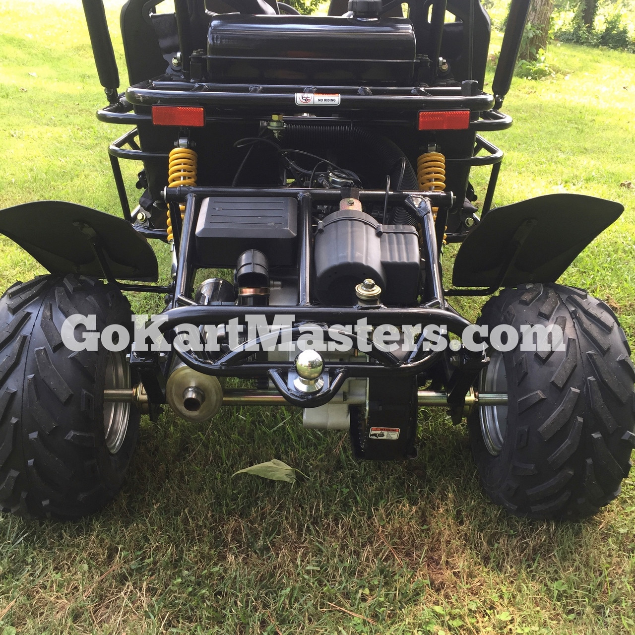 TrailMaster Blazer4 150 Go Kart - Rear of Kart