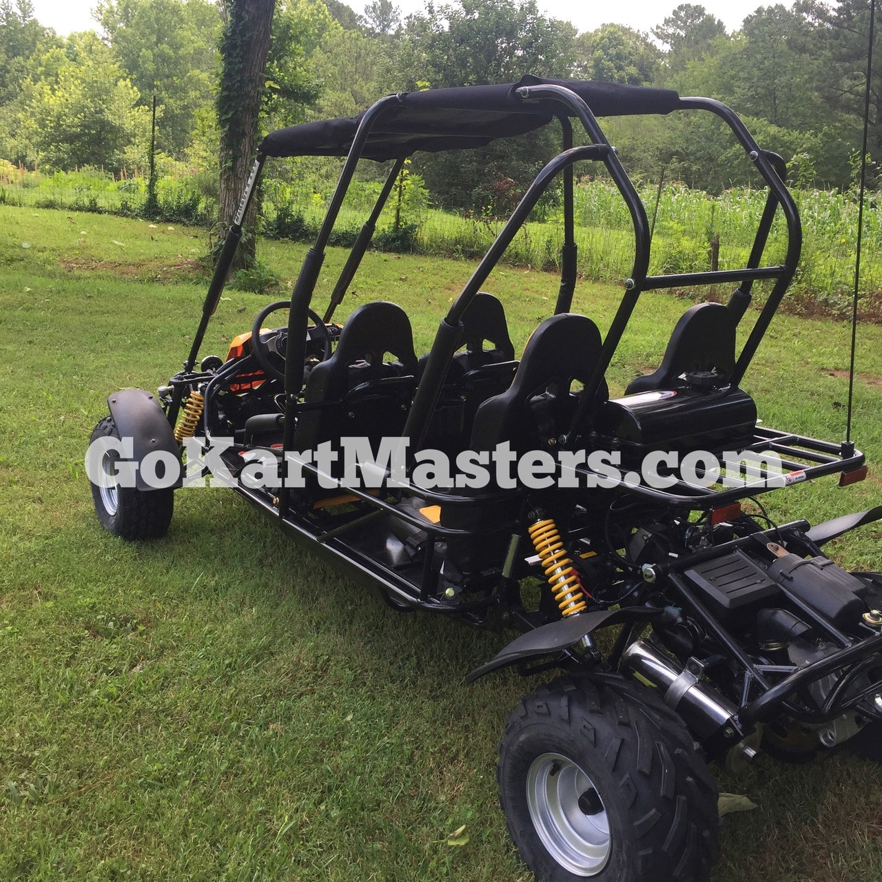 TrailMaster Blazer4 150 Go Kart - Rear View