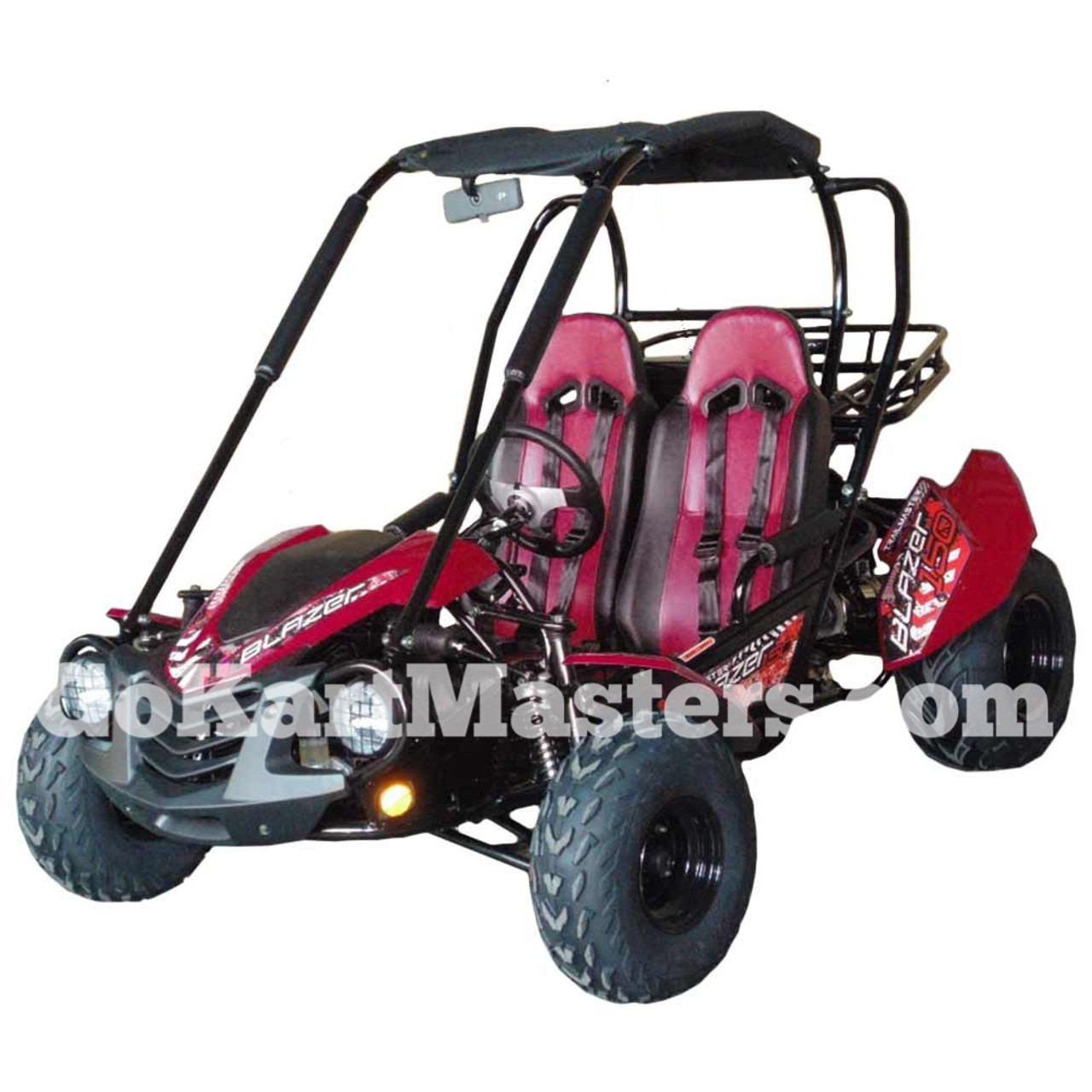 TrailMaster Blazer 150 Go Kart - Red