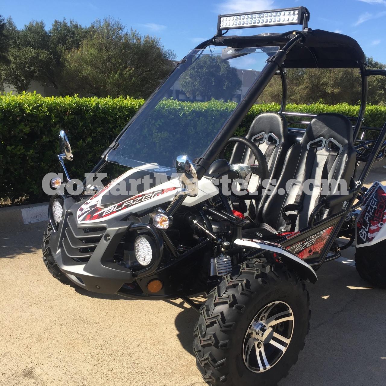 TrailMaster Go Kart Blazer 150X Go Kart