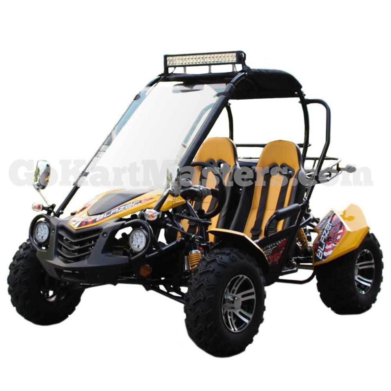 TrailMaster Blazer 150X Go Kart - Ships FREE!!! - Yellow