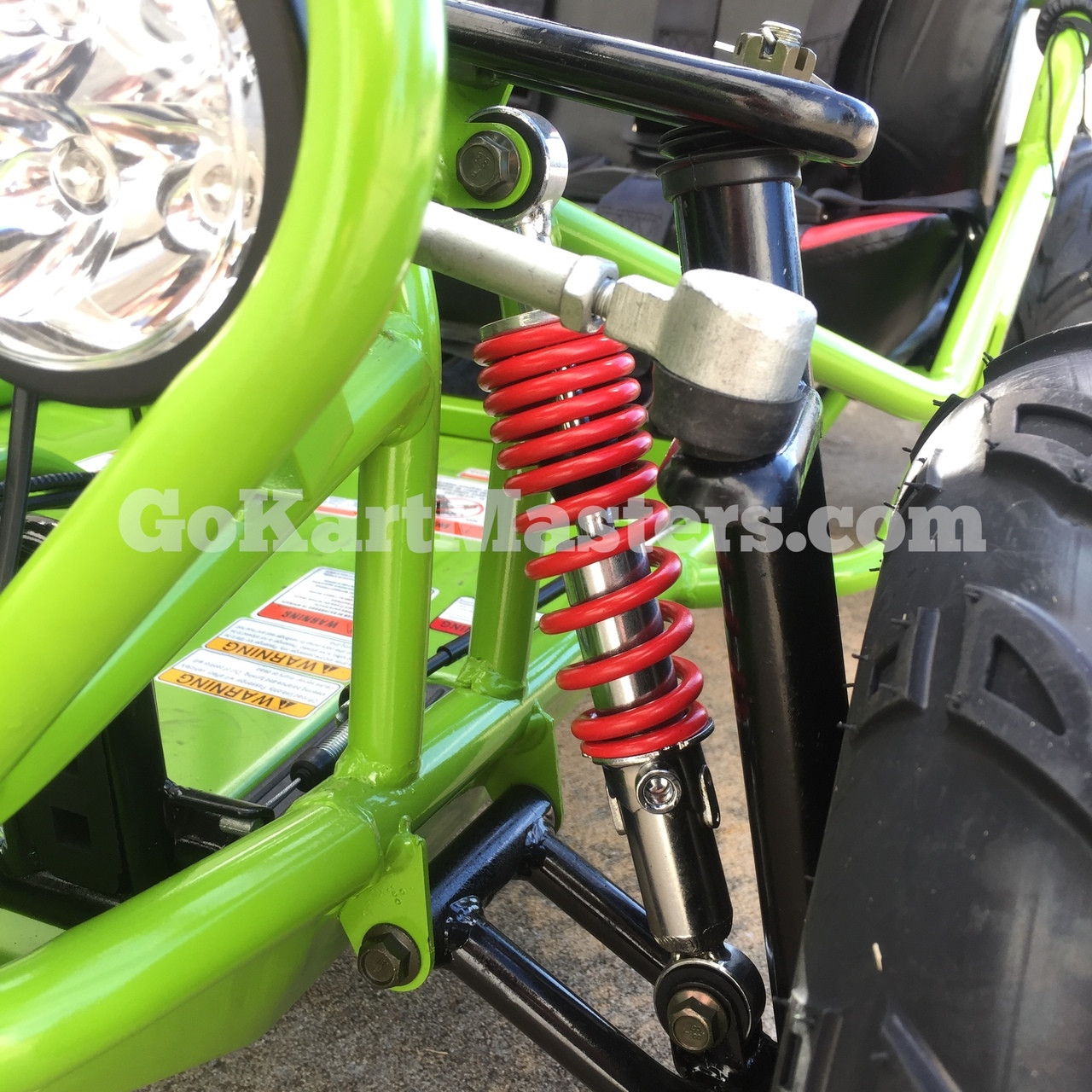 TrailMaster Mini XRX/R+ Go Kart - Front Suspension