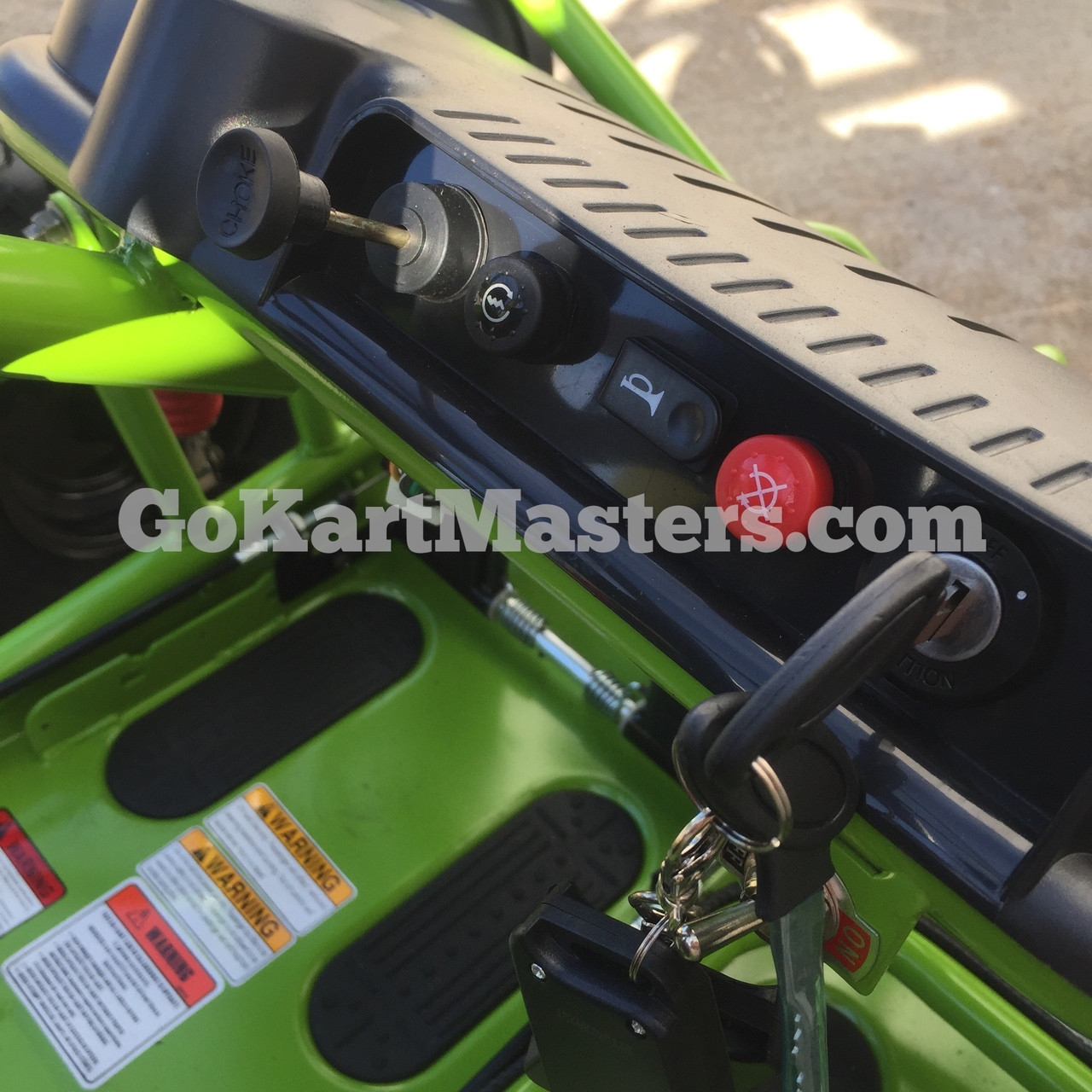 TrailMaster Mini XRX/R+ Go Kart - Dash