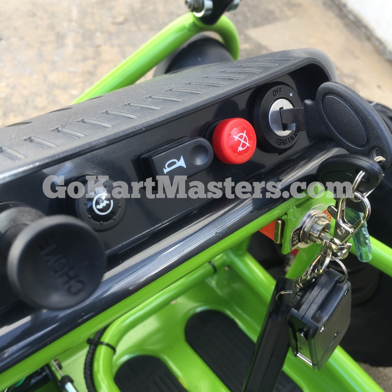 TrailMaster Mini XRX/R+ Go Kart - Choke, Horn and Key Switch