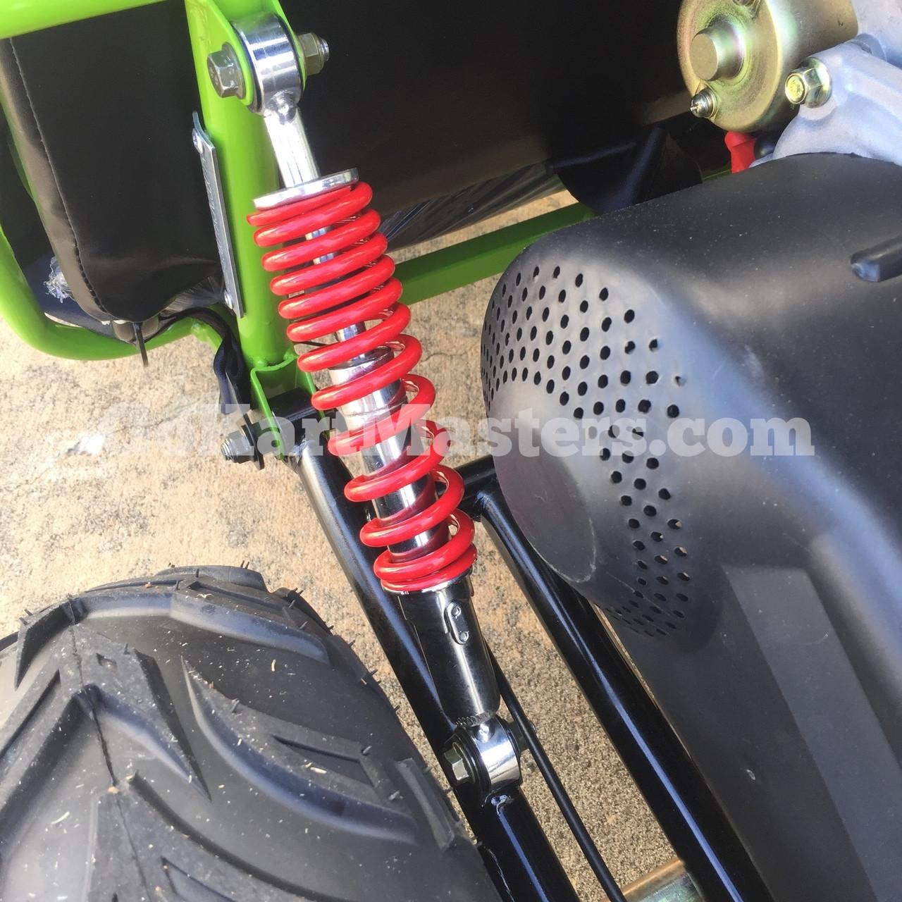 TrailMaster Mini XRX/R+ Go Kart - Rear Suspension