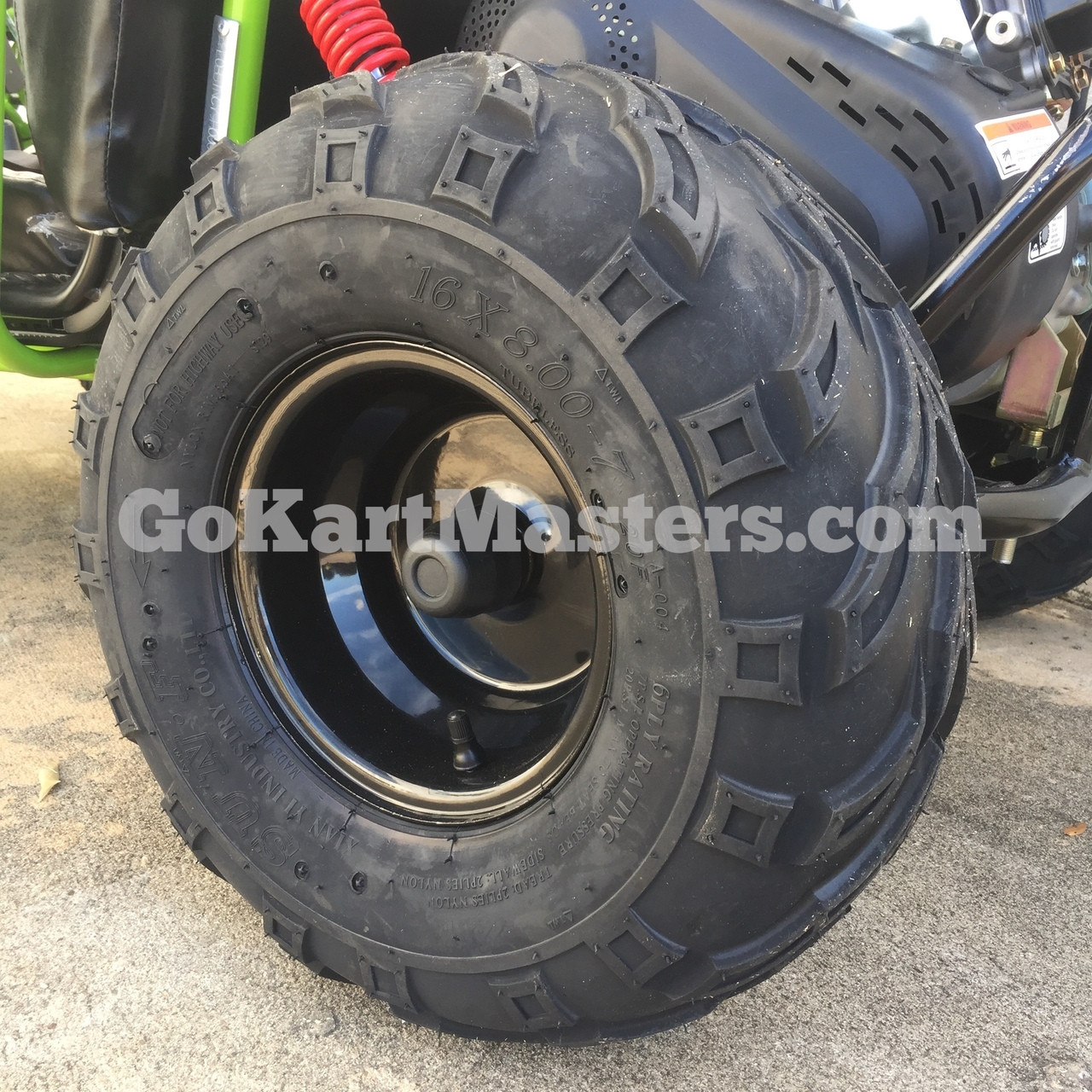 TrailMaster Mini XRX/R+ Go Kart - Oversize Tires