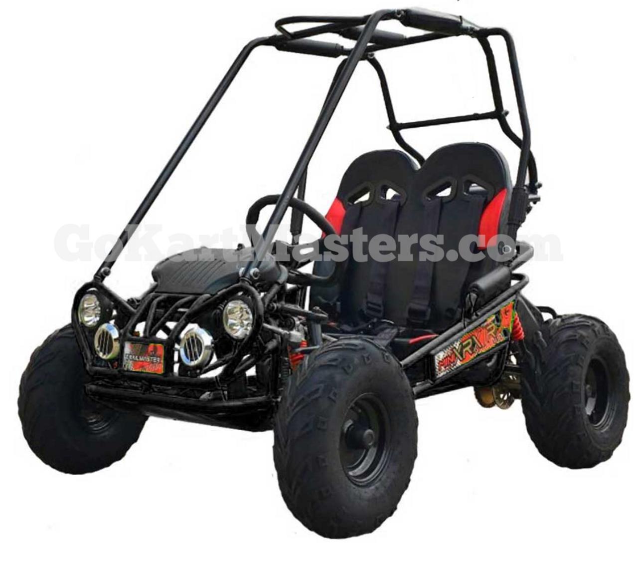 TrailMaster Mini XRX/R+ Go Kart - Black