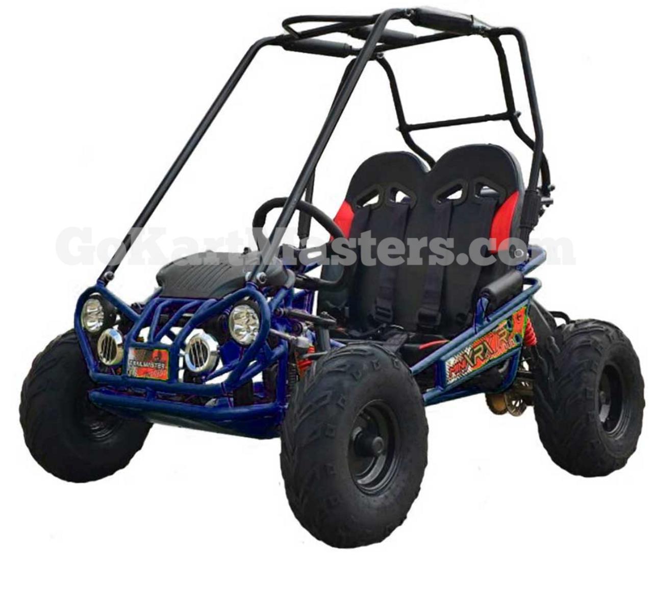 TrailMaster Mini XRX/R+ Go Kart - Blue