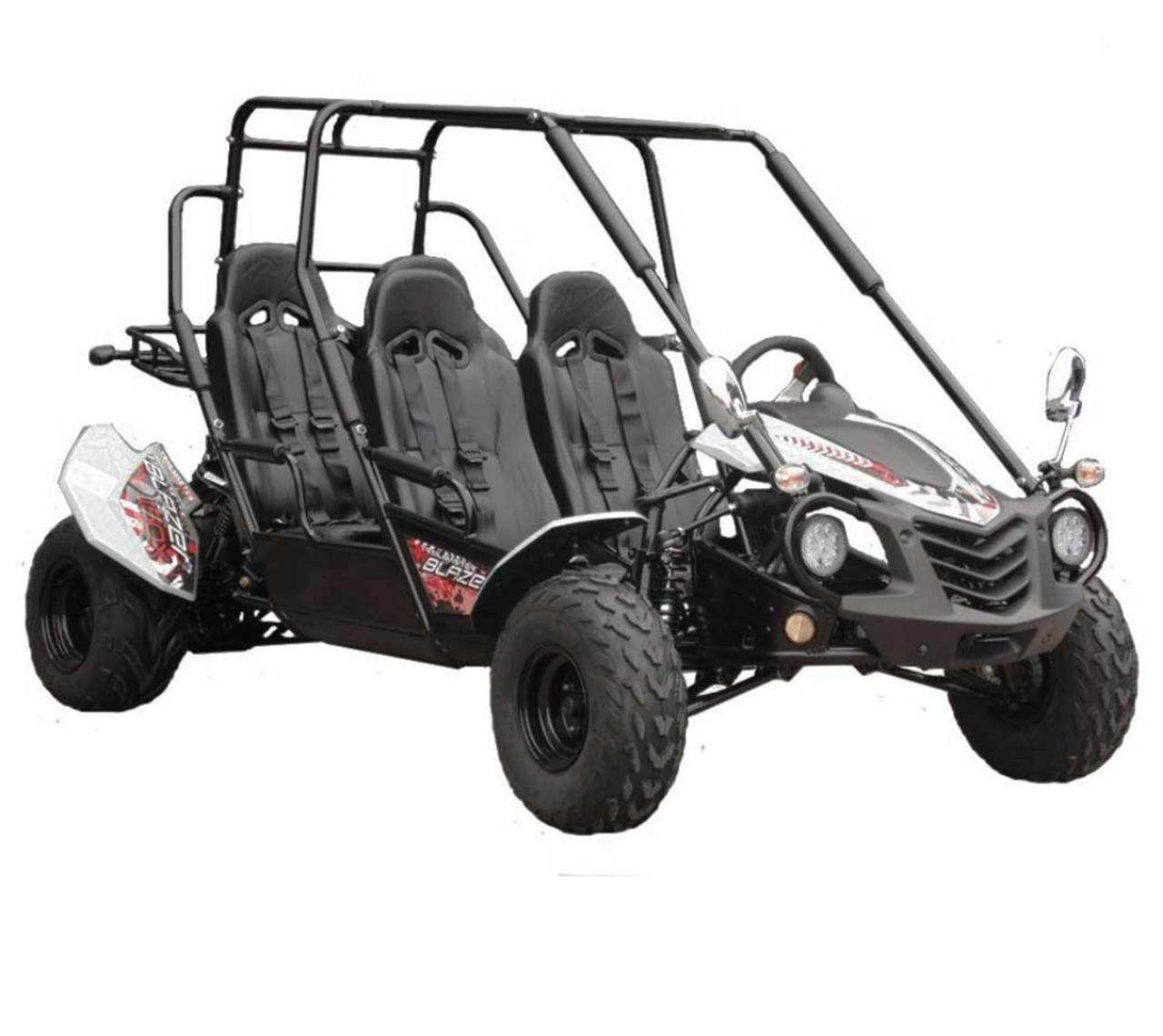 TrailMaster Blazer4 150X Go Kart - White