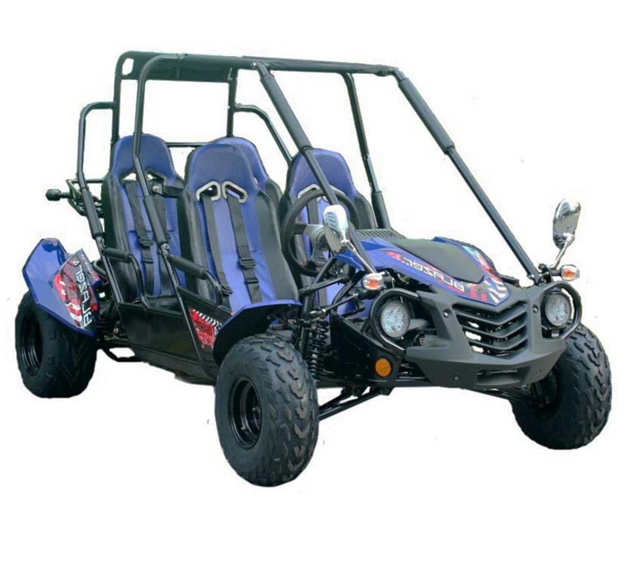 TrailMaster Blazer4 150X Go Kart - Blue