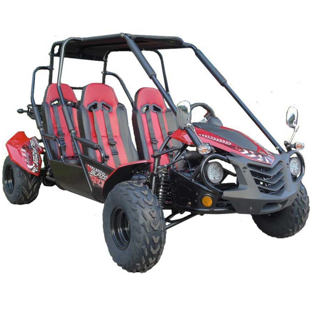 TrailMaster Blazer4 150X Go Kart - Red