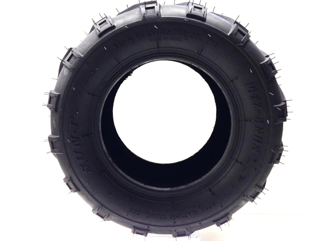 Trailmaster Mid Xrx /& Hammerhead Mudhead Rear Tires 16x7-8 2 Tire set