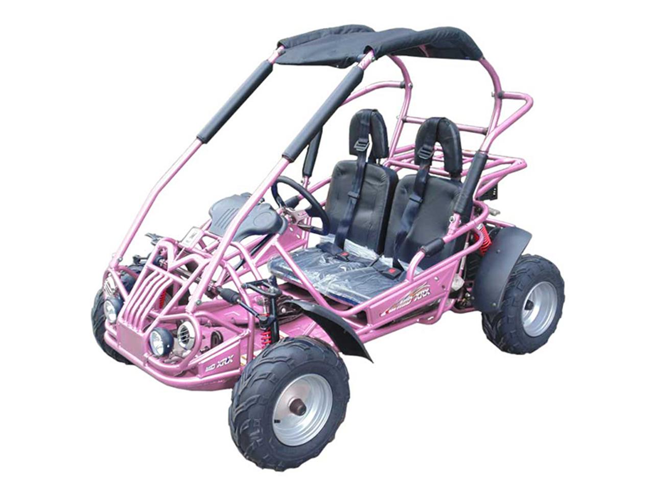 TrailMaster Mid XRX Go-Kart - Pink