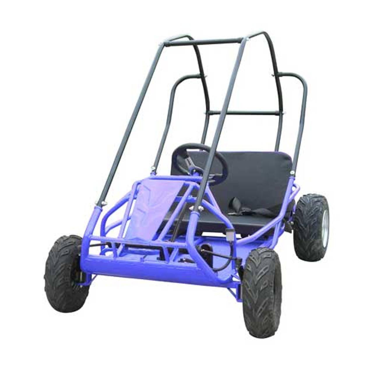 TrailMaster Mid XRS Go-Kart - Blue
