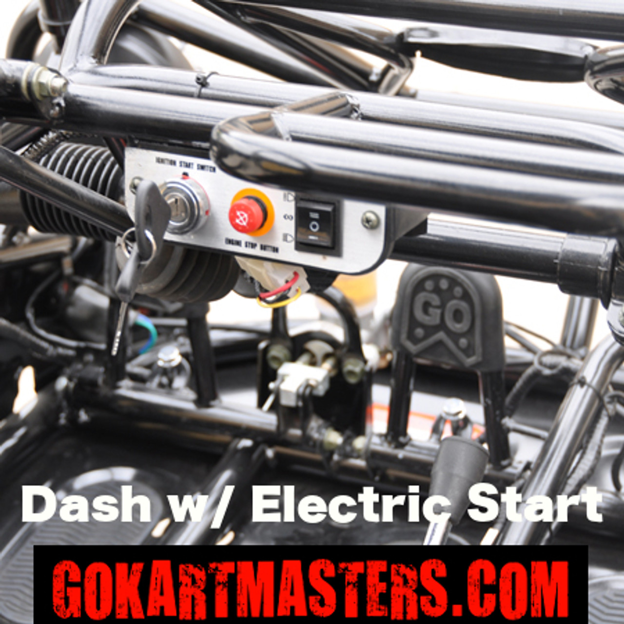 TrailMaster 150 XRX Go-Kart - Dash w/ Electric Start