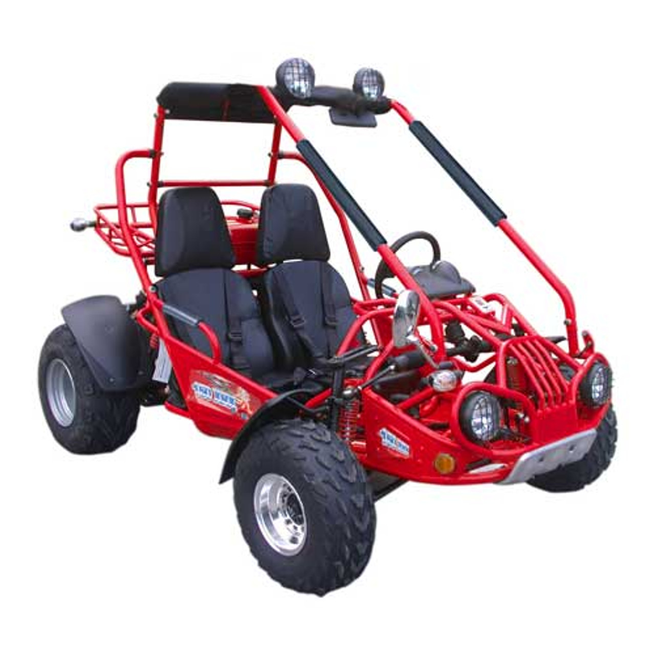 TrailMaster 150 XRX Go-Kart - Red
