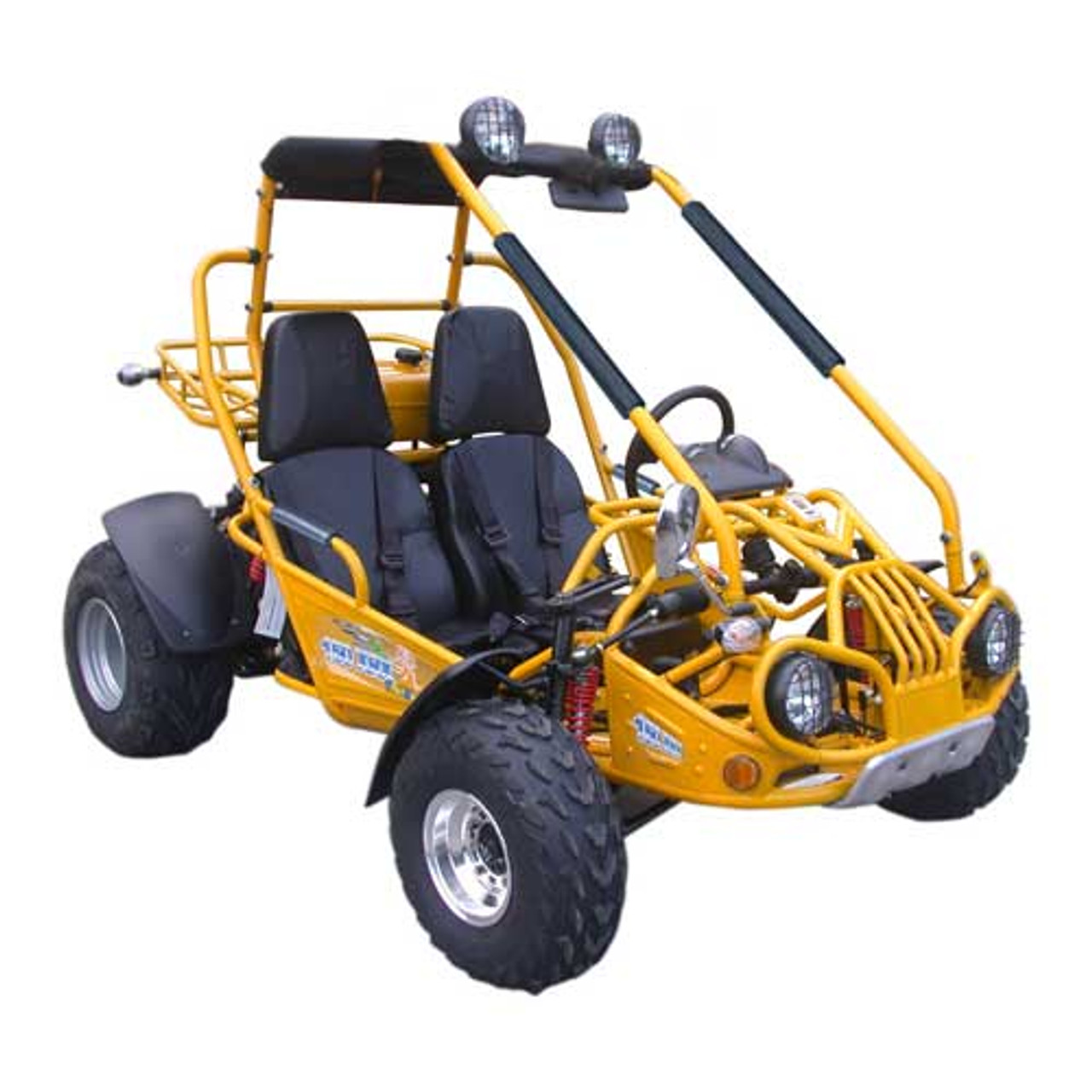 TrailMaster 150 XRX Go-Kart - Yellow