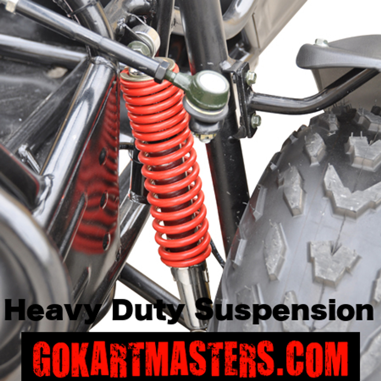 TrailMaster 150 XRS Go-Kart - Heavy Duty Suspension