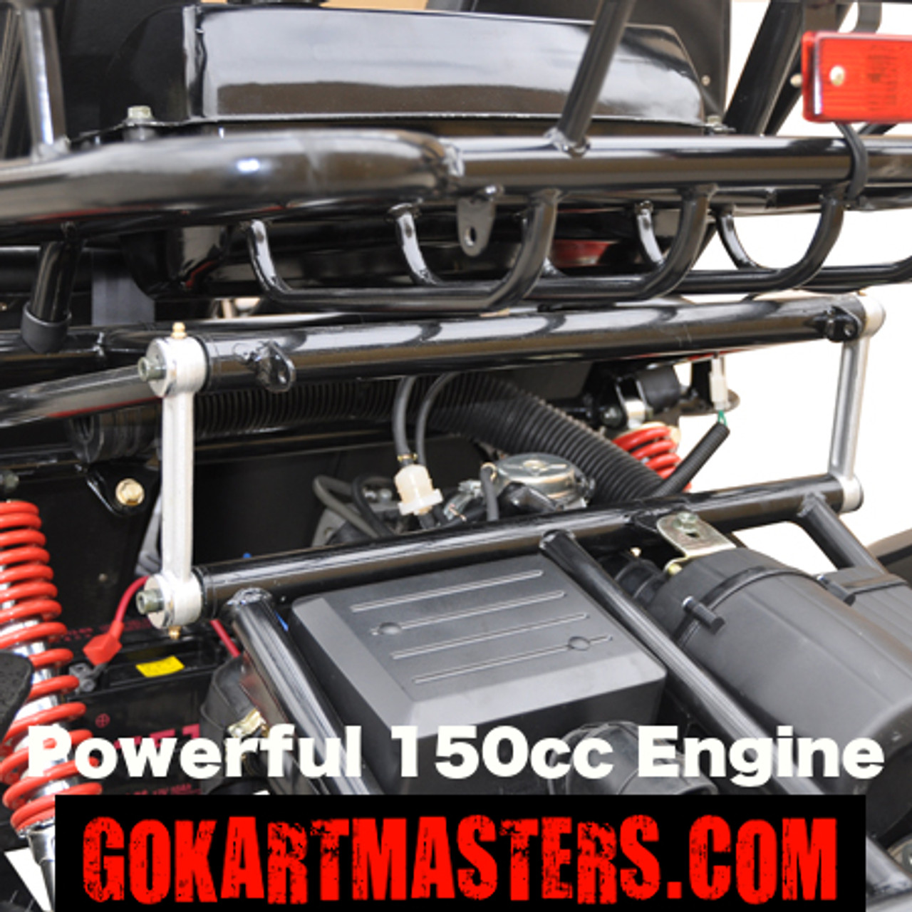 TrailMaster 150 XRS Go-Kart - Powerful 150cc Engine