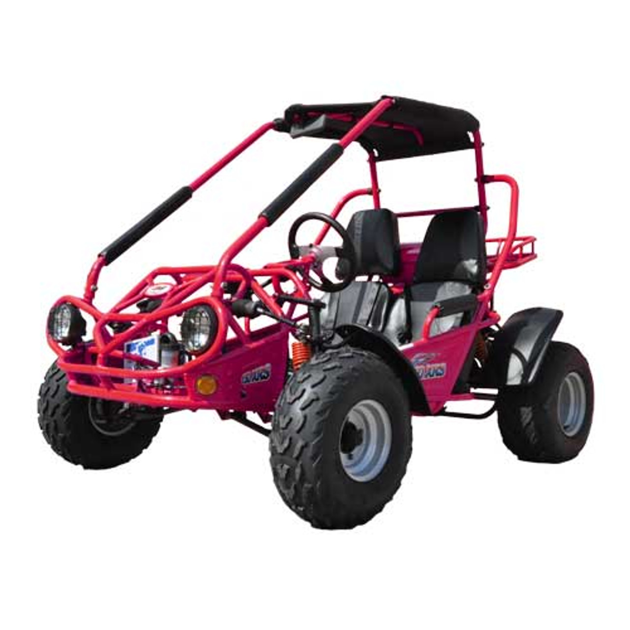 TrailMaster 150 XRS Go-Kart- Red