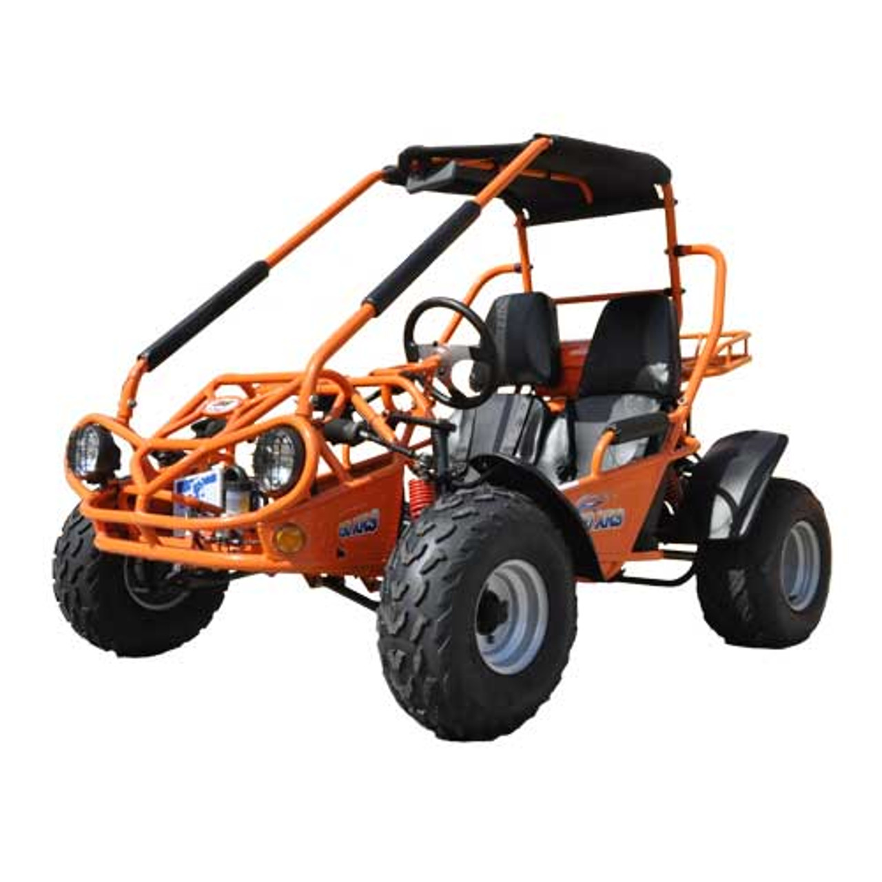 TrailMaster 150 XRS Go-Kart - Orange