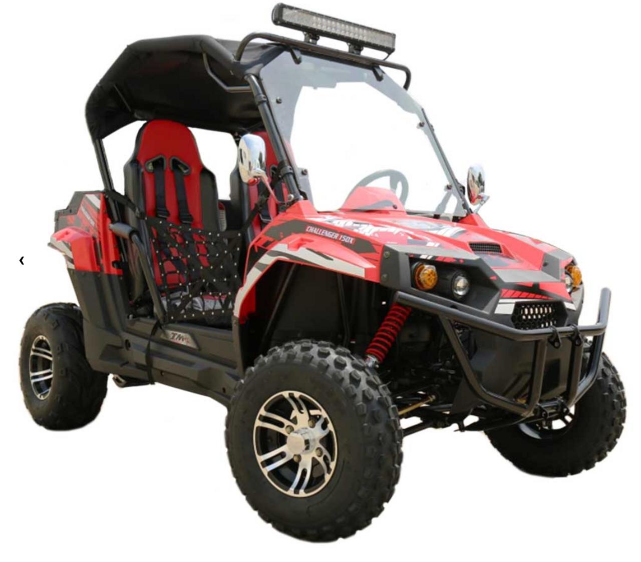 TrailMaster Challenger 150X UTV - Red