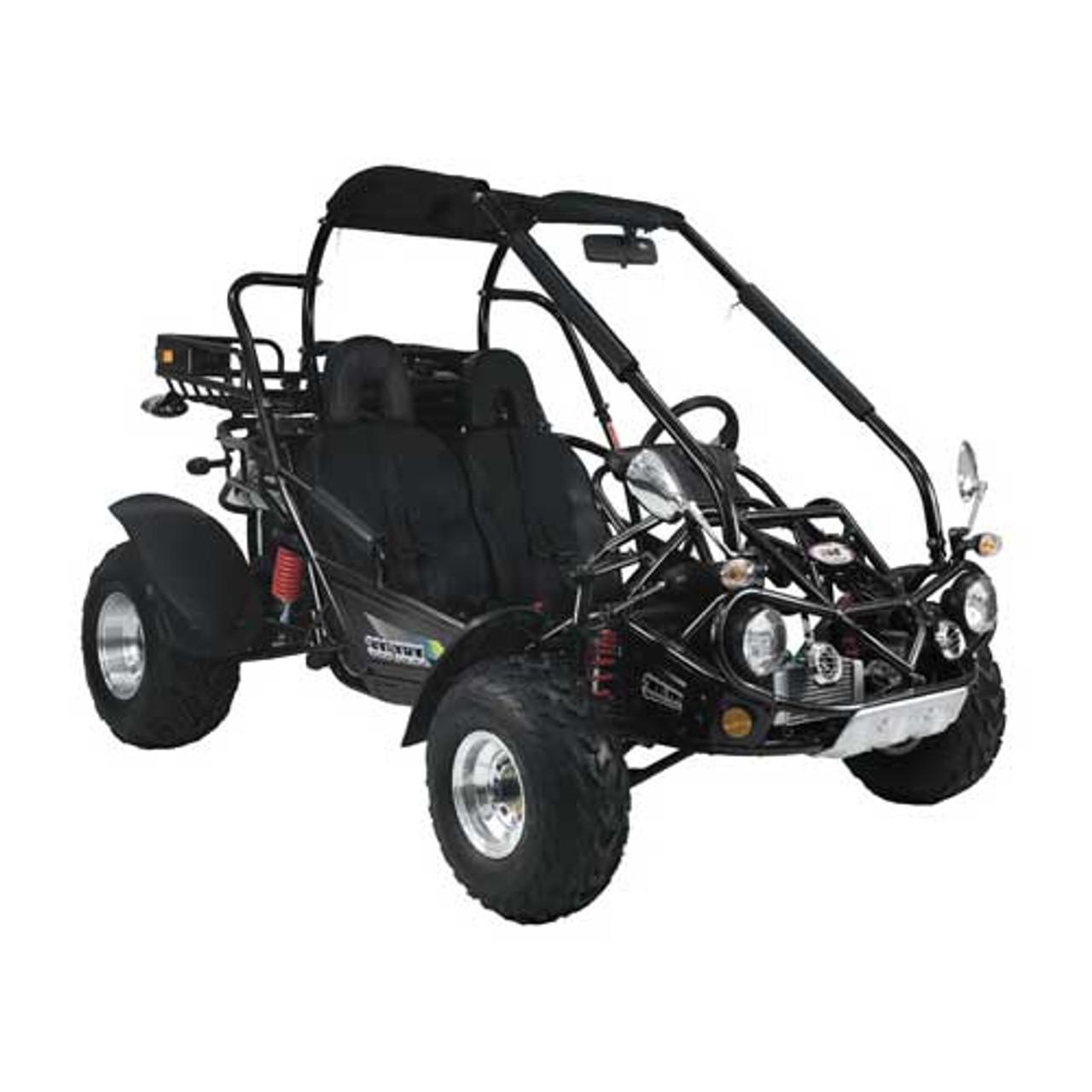 TrailMaster 300 XRX Go-Kart - Black