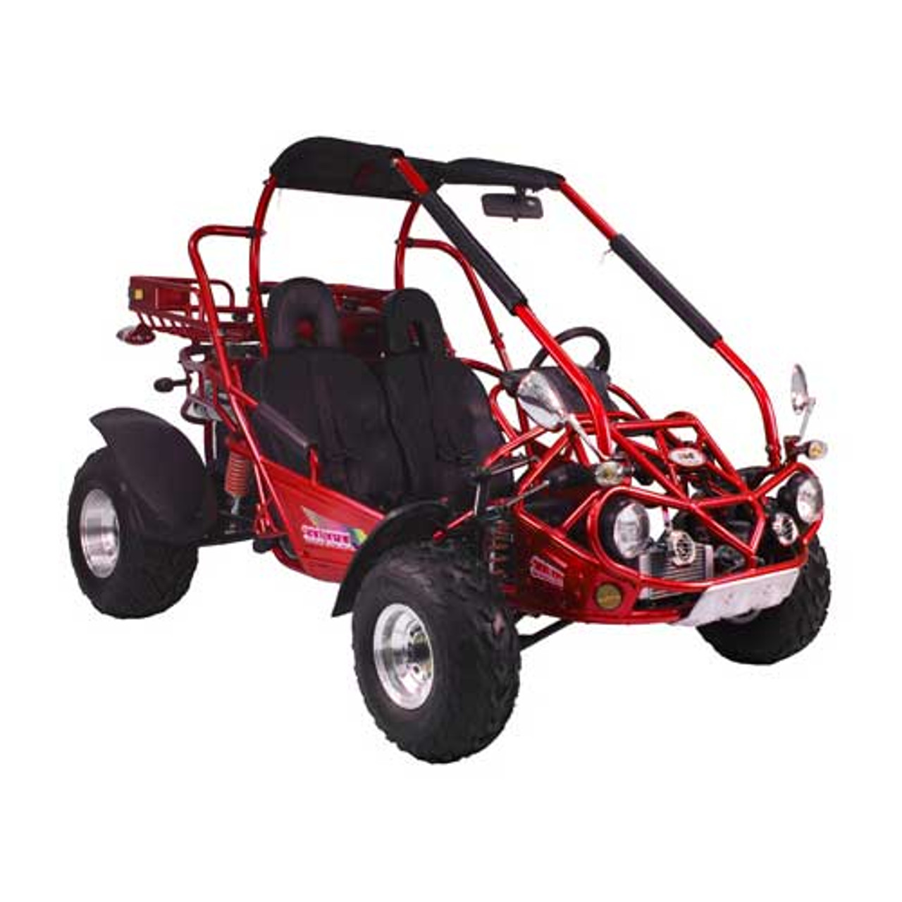 TrailMaster 300 XRX Go-Kart - Red