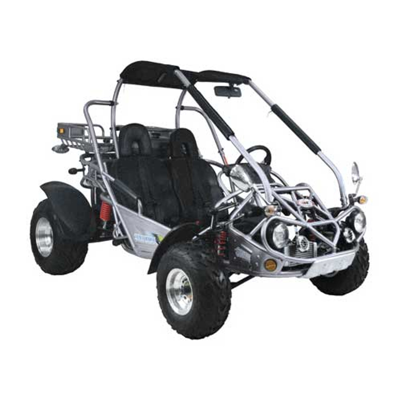 TrailMaster 300 XRX Go-Kart - Silver