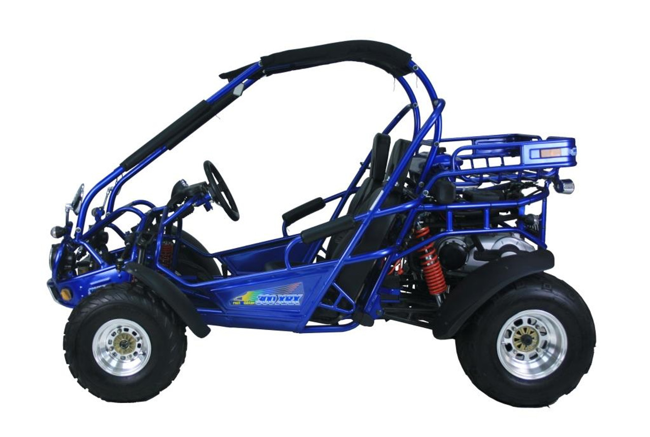 TrailMaster 300 XRX-E Go Kart - Driver's Side