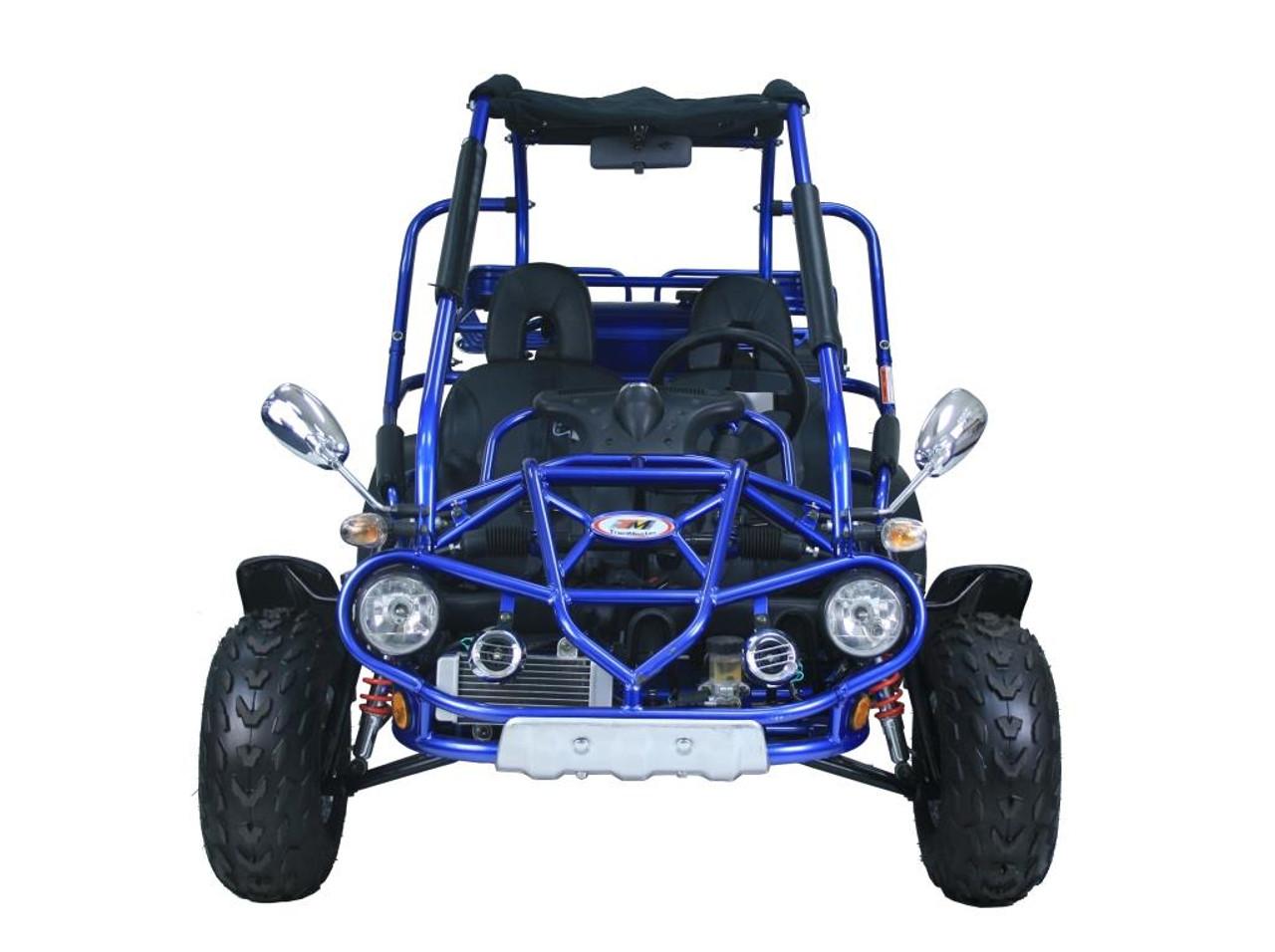 TrailMaster 300 XRX-E Go Kart - Front