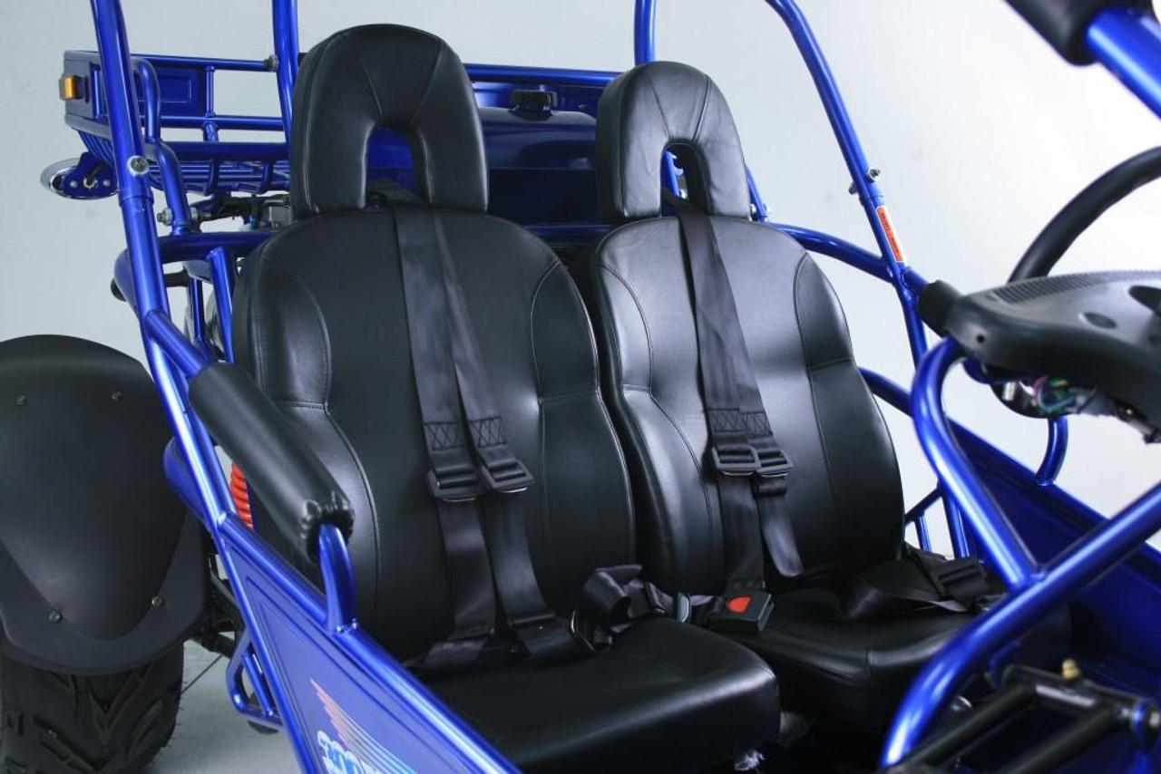TrailMaster 300 XRX-E Go Kart - Seats