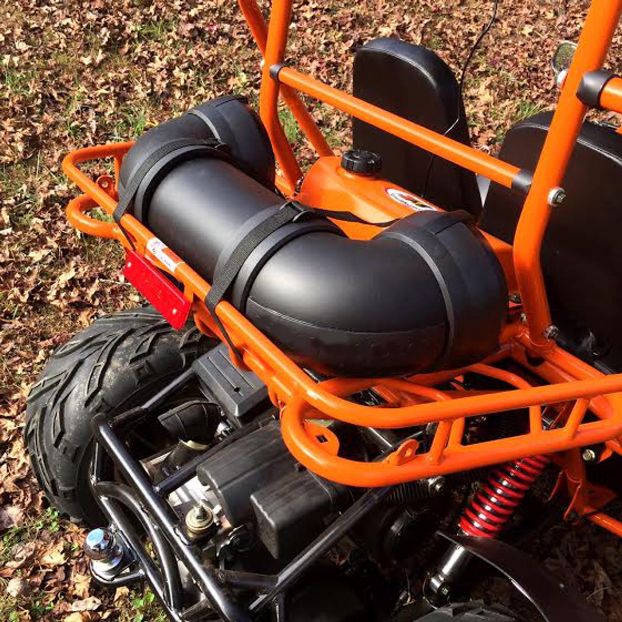 TrailMaster 150 XRS Kart Orange