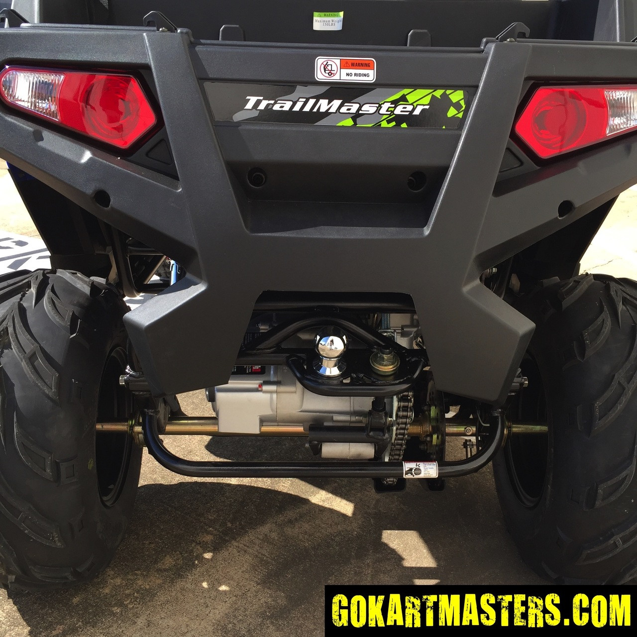 TrailMaster Challenger 300S UTV - Rear Bed