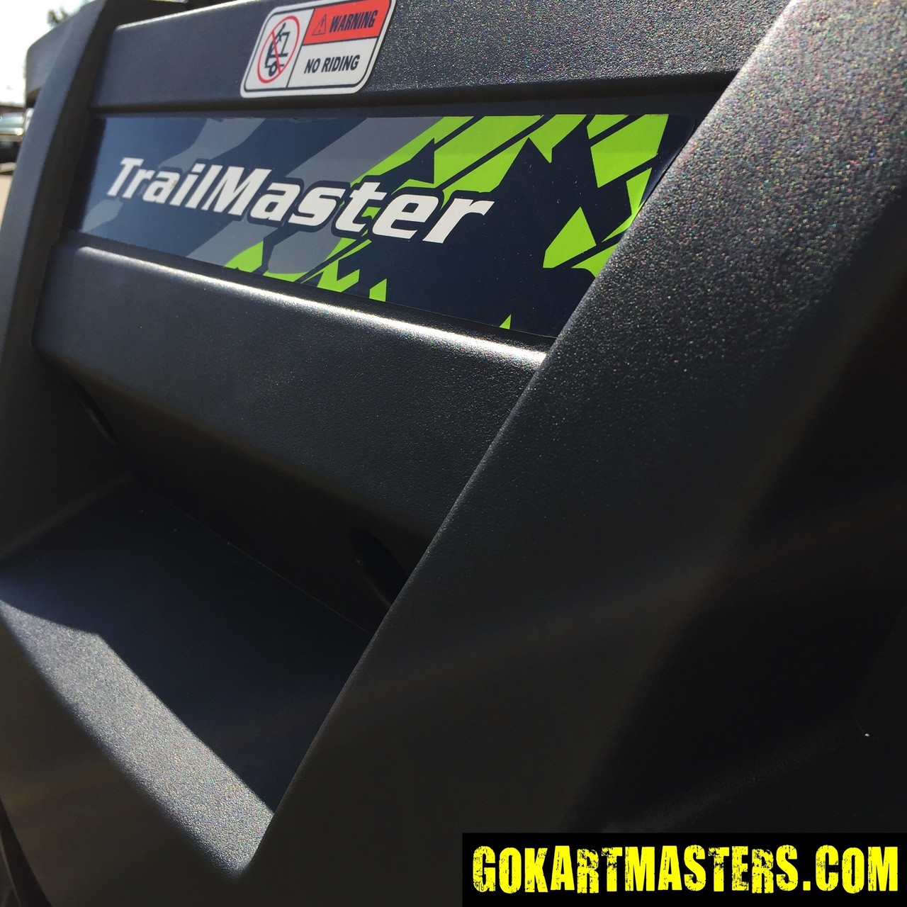 TrailMaster Challenger 300S UTV - Rear Cargo Bed
