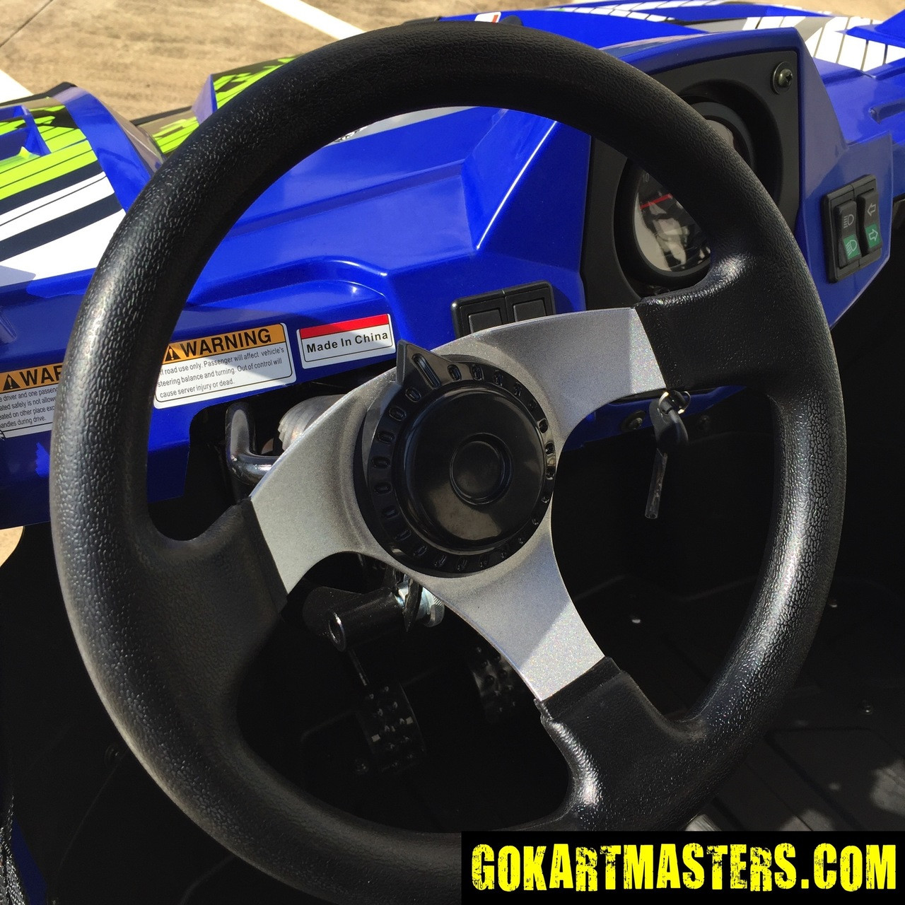 TrailMaster Challenger 300S UTV - Steering Wheel