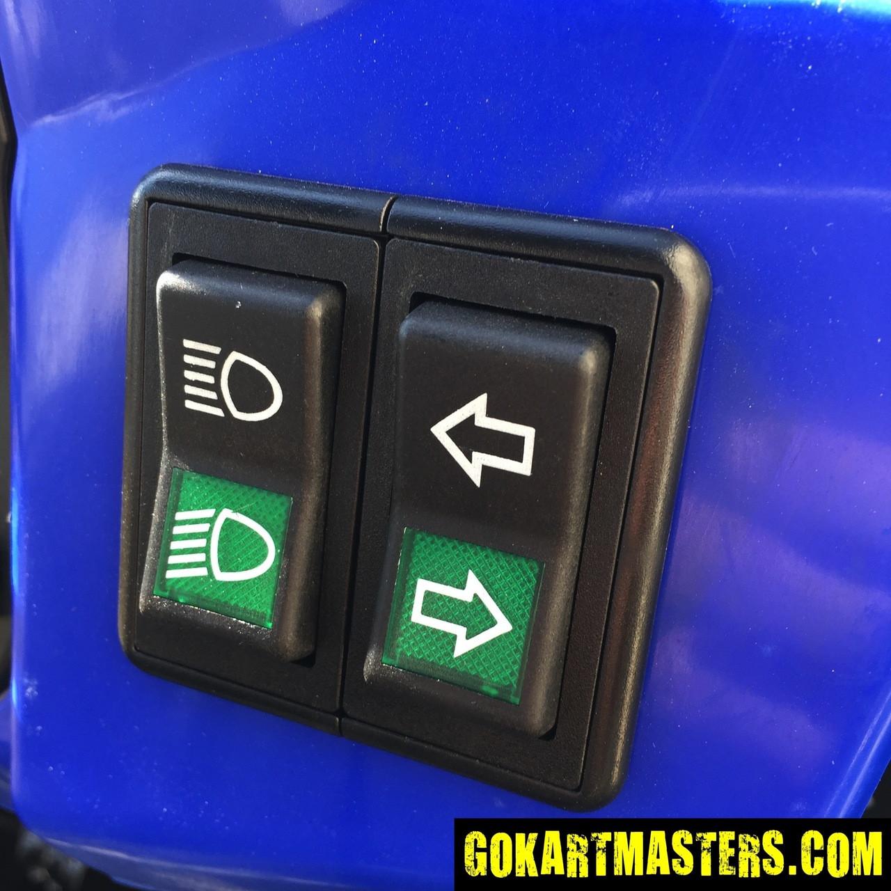 TrailMaster Challenger 300S UTV - Headlight & Turn Signal Switches