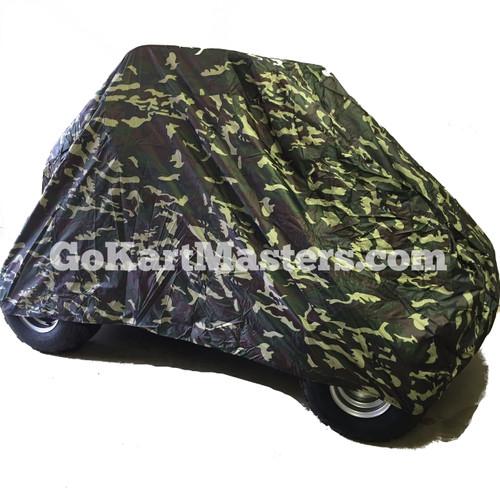 TrailMaster Go Kart Cover - Camo - Fits Mid & Blazer 200R