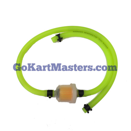 TrailMaster Go Kart Fuel Hose & Filter Kit (Green)