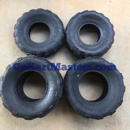 TrailMaster 150 XRX & 150 XRS Complete Tire Set