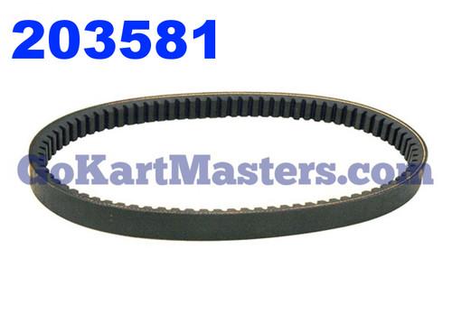 203581 Go Kart Torque Converter Belt