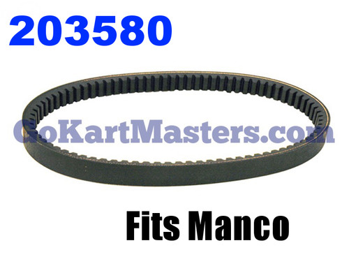 203580 Go Kart Torque Converter Belt