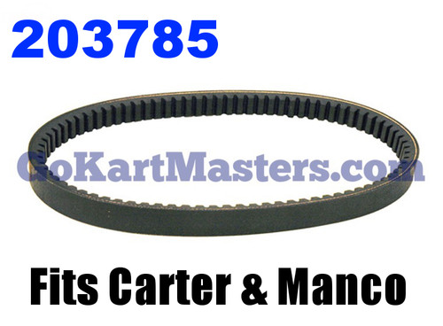 203785 Go Kart Torque Converter Belt
