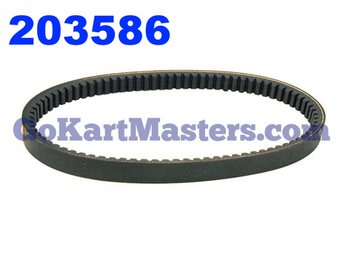 203586 Go Kart Torque Converter Belt