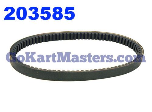 203585 Go Kart Torque Converter Belt