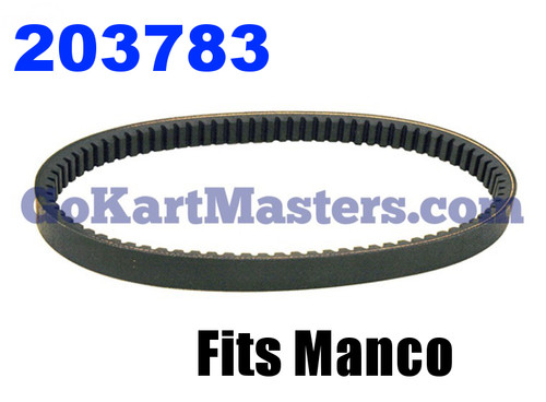 203783 Go Kart Torque Converter Belt