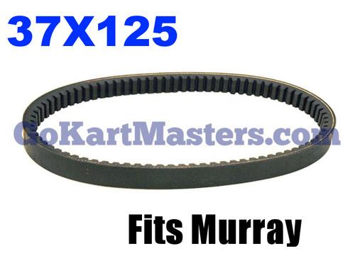 37X125 Go Kart Torque Converter Belt - Murray