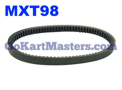 MXT98 Go Kart Torque Converter Belt