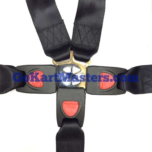 TrailMaster 5- Point Seat Belt Assembly - Mid XRX, Mid XRX-R & Blazer